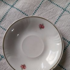 Antigüedades: PLATO CAFE PAN SANTA CLARA. Lote 94975723