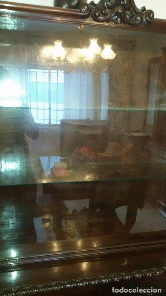 Antigüedades: conjunto comedor antiguo - Foto 2 - 95000075