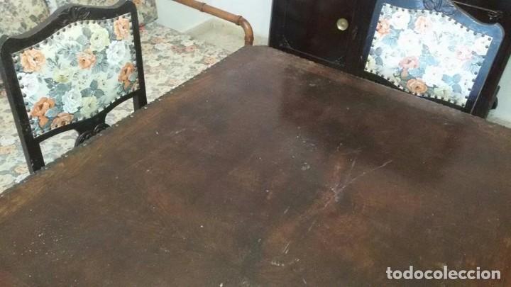 Antigüedades: conjunto comedor antiguo - Foto 5 - 95000075