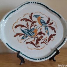 Antigüedades - Fuente cerámica Art Decó. K et G. - 95006030