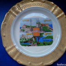 Antigüedades: PRECIOSO PLATO DE CERAMICA DE CATALUNYA , CATALUÑA. Lote 95014975