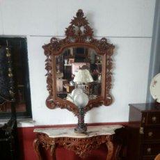 Antigüedades: CONSOLA ANTIGUA TALLADA. Lote 95025232
