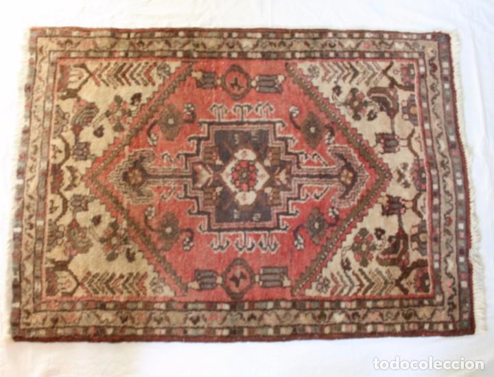 ANTIGUA ALFOMBRA DE IRAN, (Antigüedades - Hogar y Decoración - Alfombras Antiguas)
