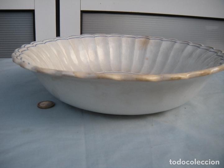 Antigüedades: FUENTE GALLONADA DE CARTAGENA. - Foto 3 - 95091987