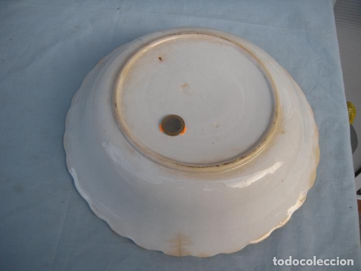 Antigüedades: FUENTE GALLONADA DE CARTAGENA. - Foto 7 - 95091987