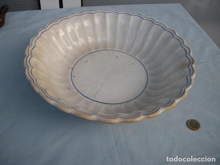 Antigüedades: FUENTE GALLONADA DE CARTAGENA. - Foto 8 - 95091987