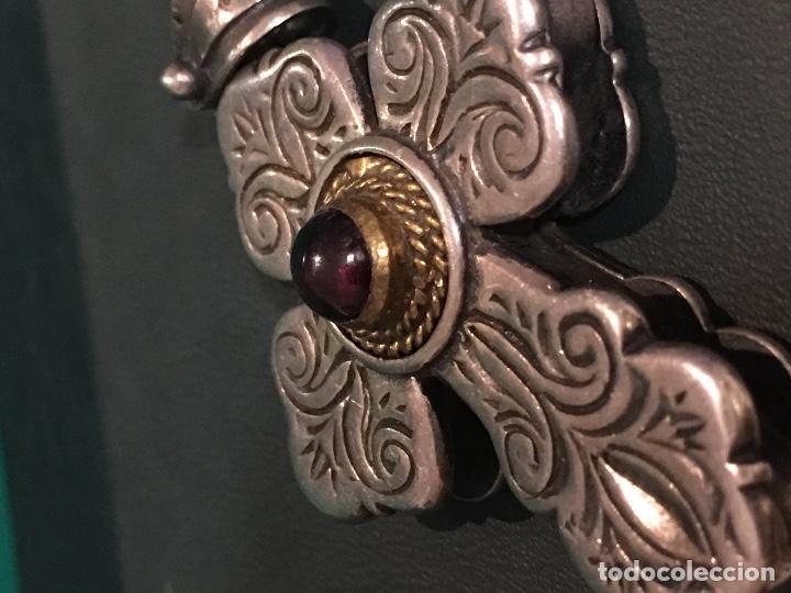 Antigüedades: Cruz de plata - Foto 7 - 95093571