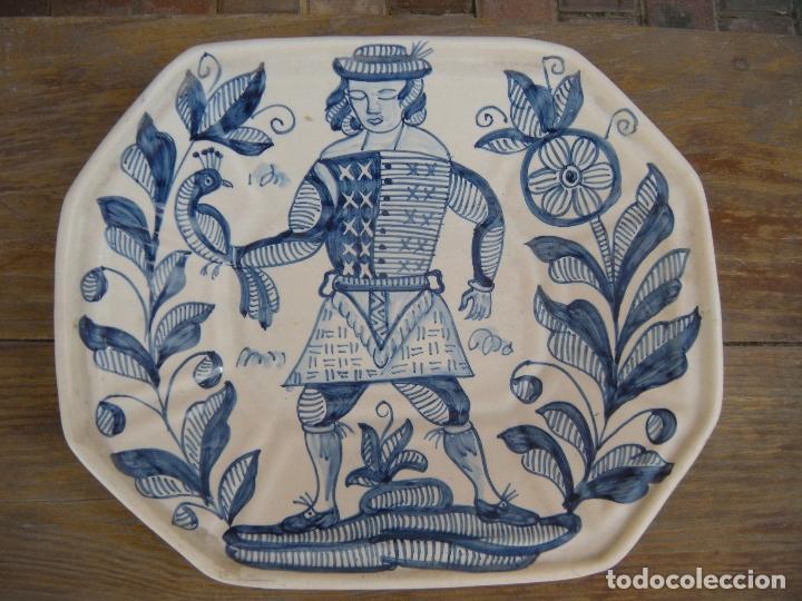 FUENTE OCHAVA LA MENORA TALAVERA (Antigüedades - Porcelanas y Cerámicas - Talavera)
