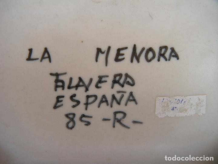 Antigüedades: FUENTE OCHAVA LA MENORA TALAVERA - Foto 2 - 95097387