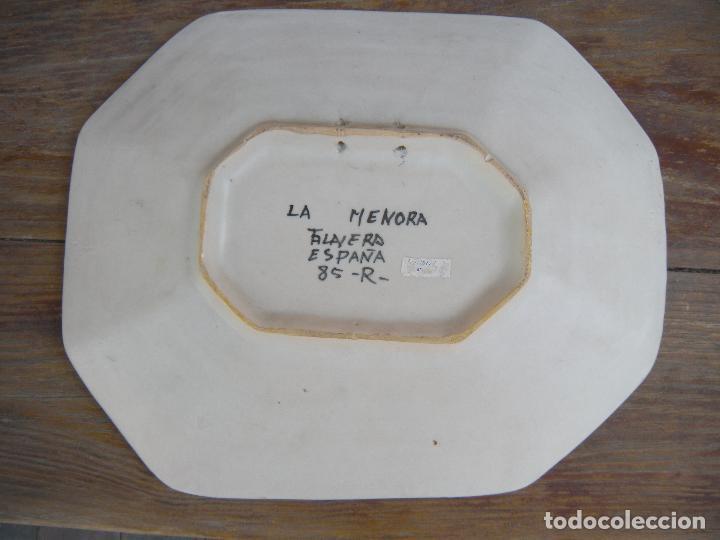 Antigüedades: FUENTE OCHAVA LA MENORA TALAVERA - Foto 4 - 95097387