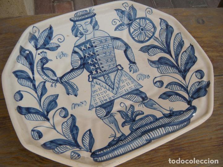 Antigüedades: FUENTE OCHAVA LA MENORA TALAVERA - Foto 5 - 95097387