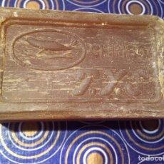 Antigüedades: ANTIGUA PASTILLA DE JABÓN MARCA CHIMBO T.Y.S DE LOS AÑOS 60 DE BILBAO . Lote 95113483