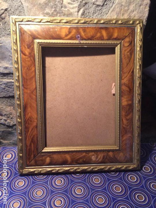 antiguo marco / cuadro / portafotos de madera c - Comprar Marcos ...