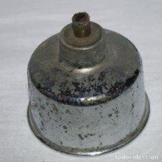 Antigüedades: ANTIGU LAMPARILLA METALICA DE ALCOHOL CON MECHA. Lote 95164651