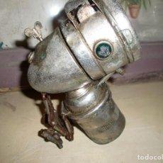 Antigüedades: LUZ BICICLETA ANTIGUA DE CARBURO RIEMUNN. Lote 95203119