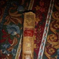 Antigüedades: TRAMPANTOJO SIGLO XIX. CAJA DE SEGURIDAD UTILIZANDO LIBRO DE 1800.... Lote 95219927