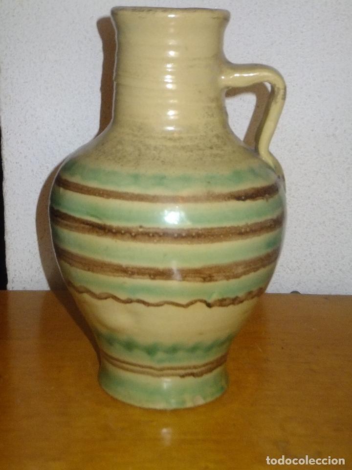 CANTARILLO O PEQUEÑO CÁNTARO DE LUCENA CÓDOBA DECORADO CON BANDA (Antigüedades - Porcelanas y Cerámicas - Lucena)