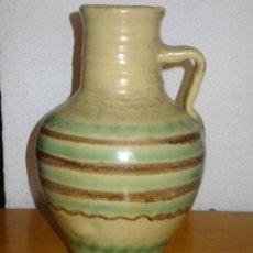 Antigüedades: PEQUEÑO CÁNTARO DE LUCENA CÓDOBA DECORADO CON BANDA. Lote 95220567