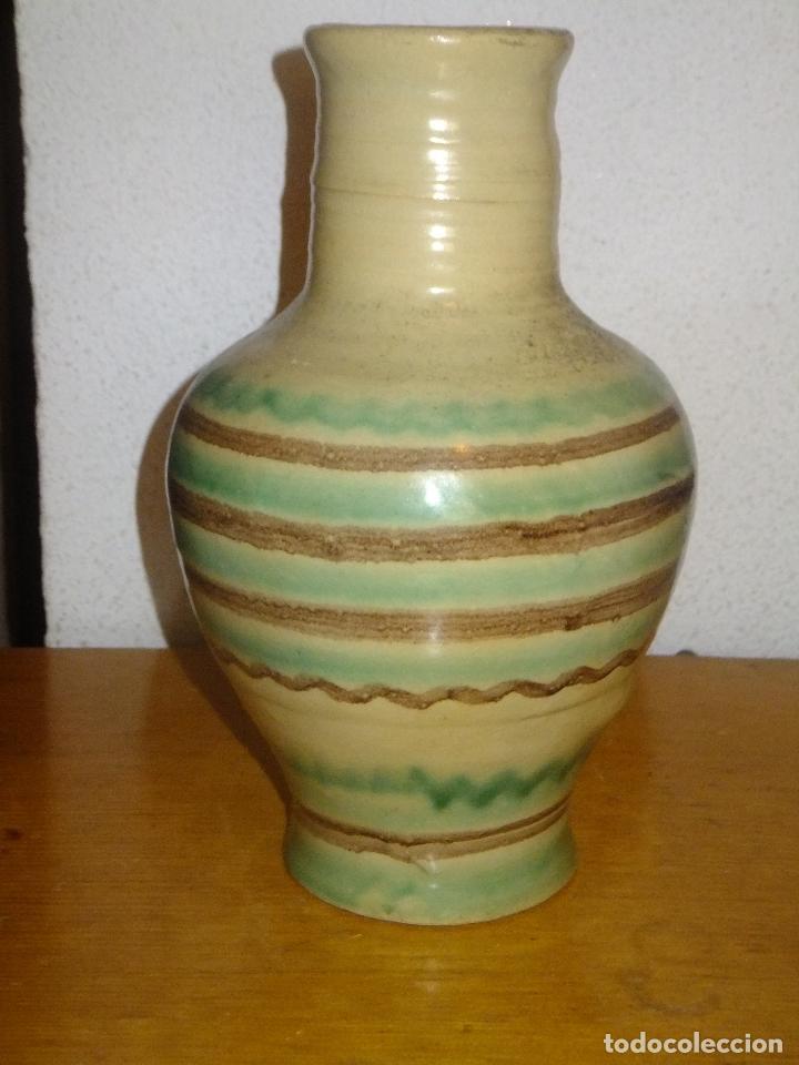 Antigüedades: cantarillo o pequeño cántaro de Lucena Códoba decorado con banda - Foto 4 - 95220567