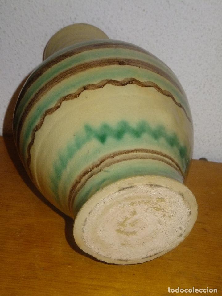Antigüedades: cantarillo o pequeño cántaro de Lucena Códoba decorado con banda - Foto 6 - 95220567