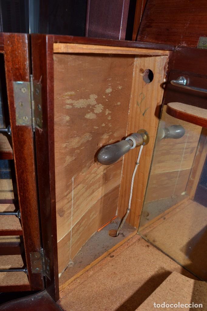 Antigüedades: mueble bar minibar - Foto 7 - 95247227