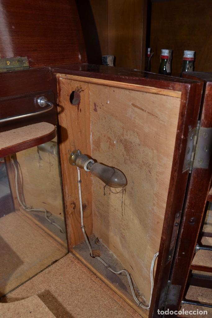 Antigüedades: mueble bar minibar - Foto 13 - 95247227