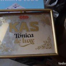 Antigüedades: CUADRO MARCO ESPEJO TONICA DE LUXE KAS . Lote 95268523