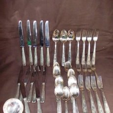 Antigua cuberteria ba o de plata contrastada de comprar ba ado en plata antigua en - Precio cuberteria plata ...