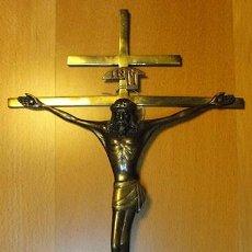 Antigüedades: CRISTO BRONCE. Lote 95275471