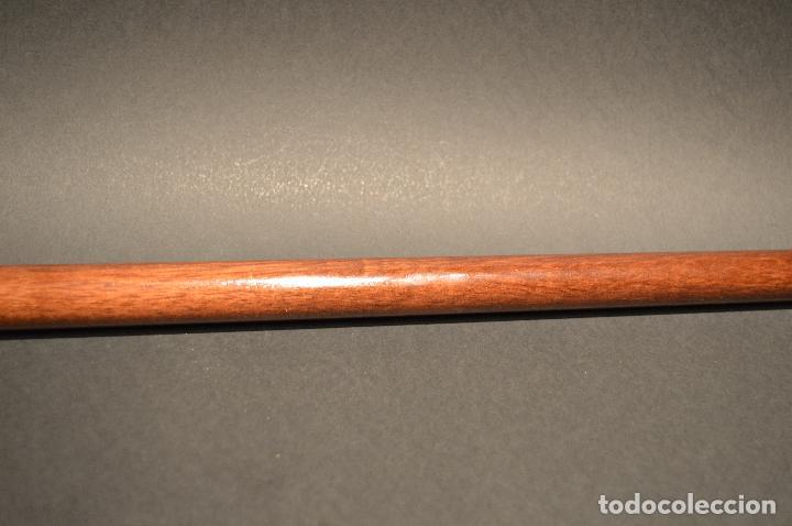 Antigüedades: ANTIGUO BASTON DE DOBLE USO MANGO EN BRONCE FORMA DE PATO - Foto 9 - 95345027
