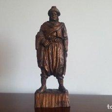 Antiquitäten - Figura de madera tallada. - 95348855