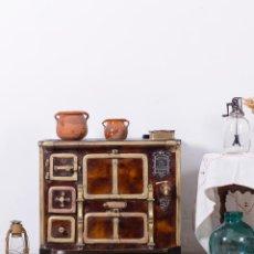 Cocina Antigua De Hierro Fundido 1917