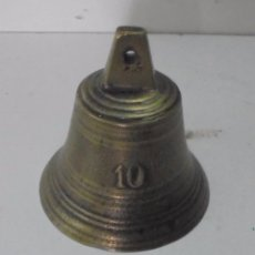 Antigüedades: BONITA CAMPANA ANTIGUA DE BRONCE . Lote 95451339