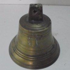 Antigüedades: BONITA CAMPANA ANTIGUA DE BRONCE . Lote 95451595