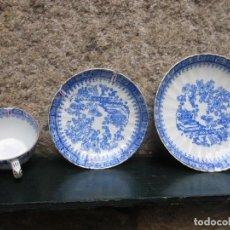 Antigüedades: LOTE TRES PIEZAS JUEGO CAFE DE ' ALVAREZ VIGO ' HACIA 1950/55 + INFO Y FOTOS. Lote 95457699