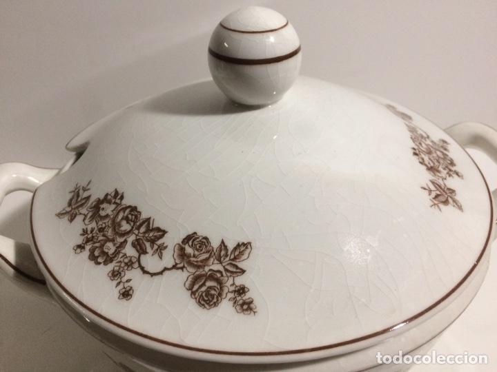 Antigüedades: Sopera y salsera Royal China Vigo - Foto 3 - 95500544
