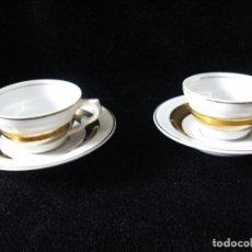 Antigüedades: JUEGO DE CAFE TU Y YO, MAH SANTA CLARA VIGO. Lote 95509447