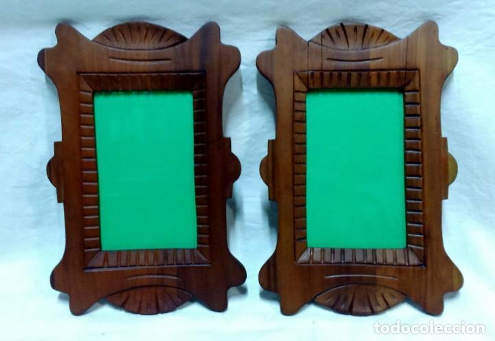 pareja de cuadros o marcos en madera, originale - Comprar Marcos ...