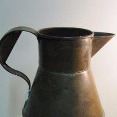Antigüedades: VIEJA MEDIDA REALIZADA EN CHAPA DE HIERRO. Lote 95540343