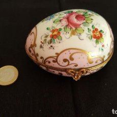 Antigüedades - Caja de porcelana francesa - 95553743