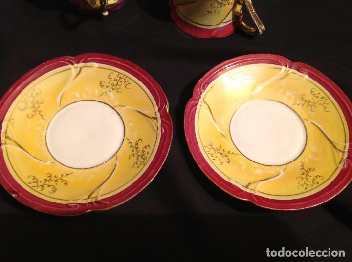 Antigüedades: Cuatro Tazas De Café Modernistas - Foto 2 - 95561515