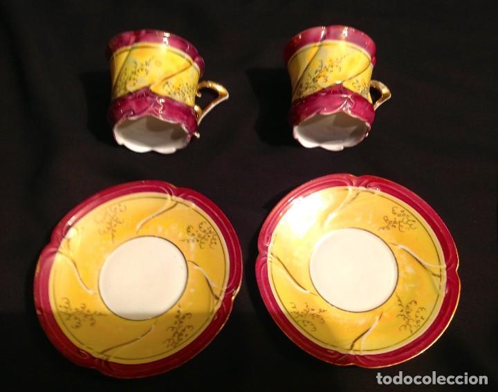 Antigüedades: Cuatro Tazas De Café Modernistas - Foto 3 - 95561515