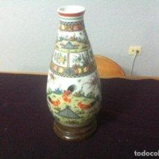 Antigüedades: PRECIOSO JARRÓN JAPONÉS ANTIGUO GRANDE. Lote 95570351