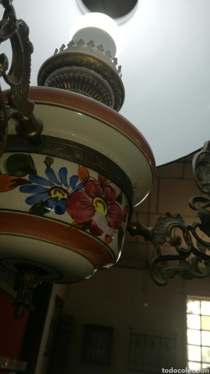 Antigüedades: Lámpara de cadenas - Foto 2 - 95582982