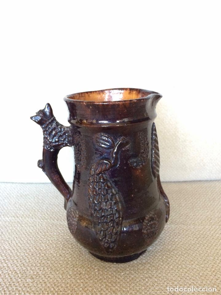 JARRA VICTORIANA (Antigüedades - Porcelanas y Cerámicas - Inglesa, Bristol y Otros)