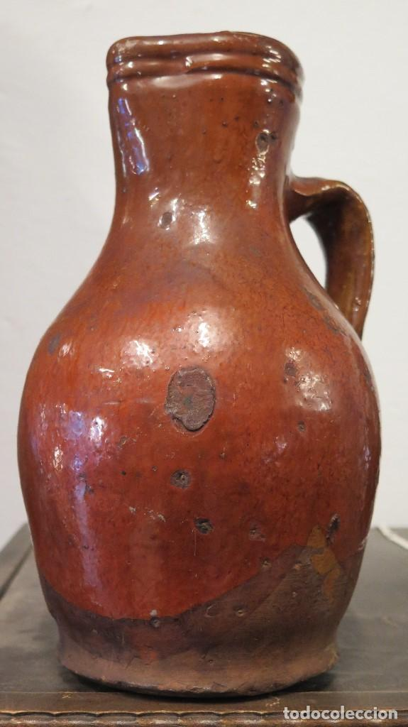 ANTIGUA JARRA DE CUENCA. ALFARERIA POPULAR (Antigüedades - Porcelanas y Cerámicas - Otras)