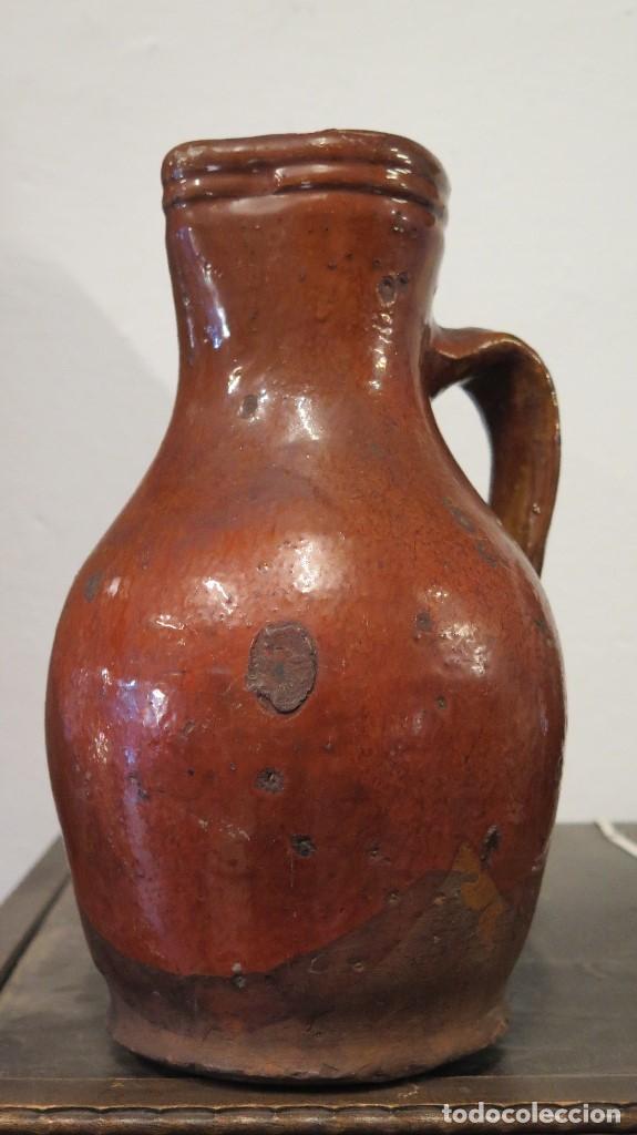 Antigüedades: ANTIGUA JARRA DE CUENCA. ALFARERIA POPULAR - Foto 2 - 95605031