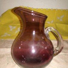 Antigüedades: PEQUEÑA JARRA DE FINO CRISTAL. Lote 95612443
