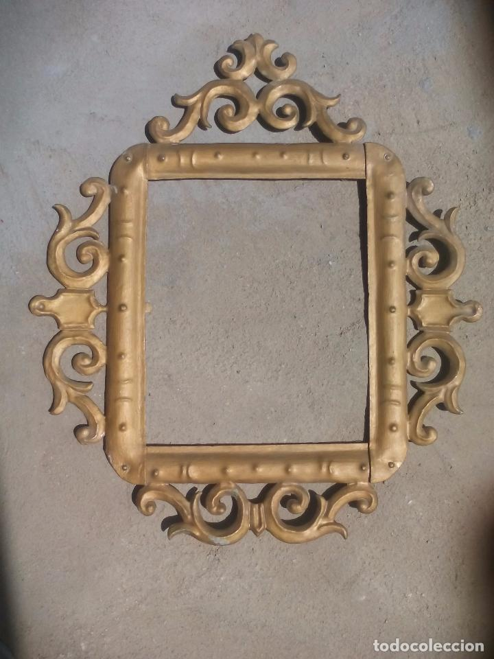antiguo marco dorado de hojalata o metal, para - Comprar Marcos ...