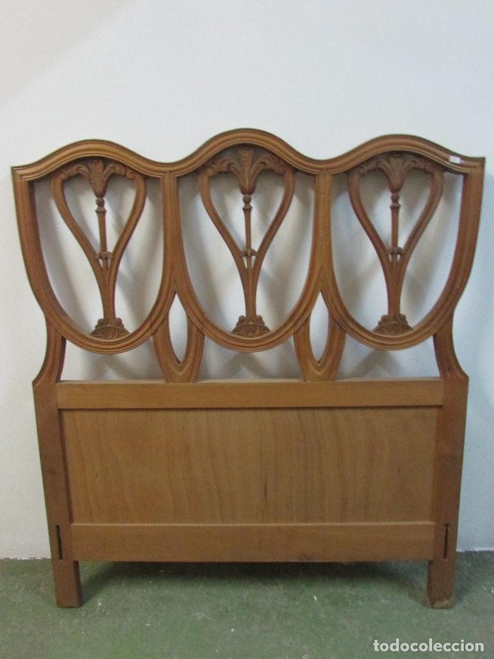 Cabeceros 2 de cama madera maciza noble comprar camas - Cabeceros cama antiguos ...